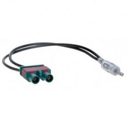 Cable adaptador antena DIN Macho - 2 Fakra Macho VOLVO