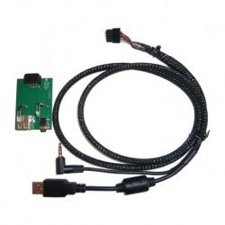 Cable extensión puerto USB-AUX | KIA Cee´d 2006 hasta 2012