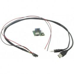 Cable extensión puerto USB-AUX | HYUNDAI