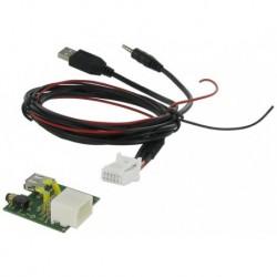Cable extensión puerto USB-AUX | HYUNDAI Santa Fé