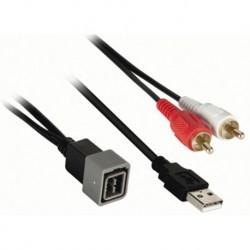 Cable extensión puerto USB NISSAN hasta 2013