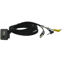 Cable extensión puerto USB-AUX | OPEL