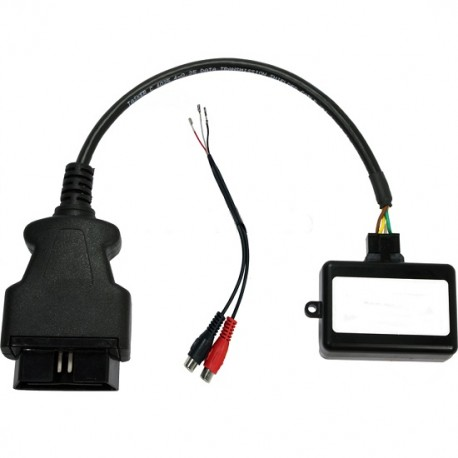 Entrada Audio Auxiliar + Activador OBD2 NTG 4.5 Audio 20 para Mercedes-Benz